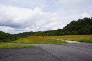 山佐ダムキャンプ場 上段サイト