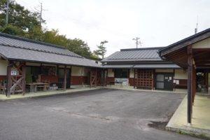 山佐ダムキャンプ場 上段サイト 施設